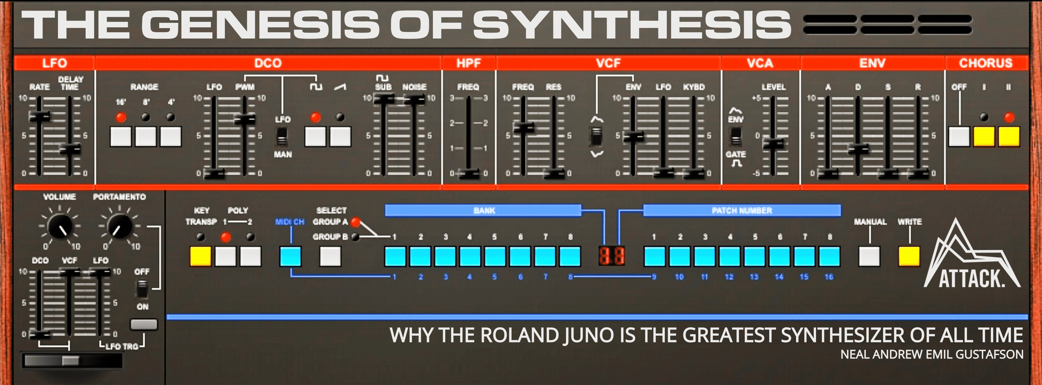 The Genesis of Synthesis _ 10 Reasons Why The Roland Juno Is The Greatest Synthesizer Of All Time - By Neal Gustafson (1)Long Reads