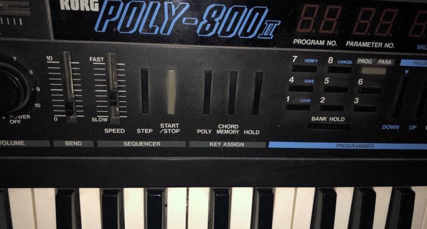 Ian Blevins Korg Poly-800