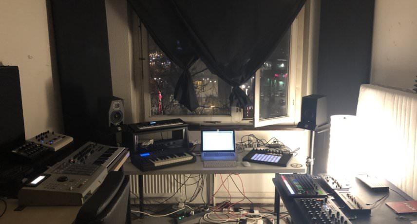 Ian Blevins My Studio