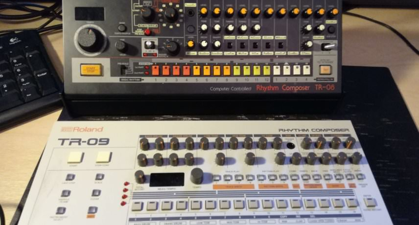 Roland Boutique TR08 and TR09