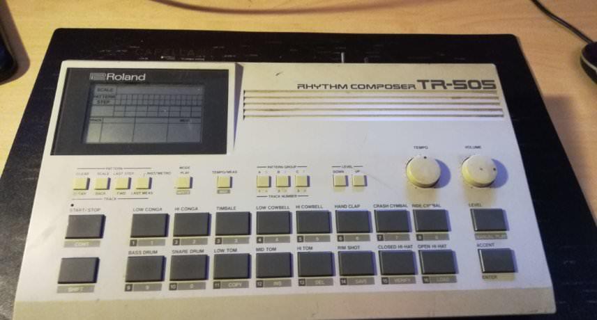 Roland TR505 Modded