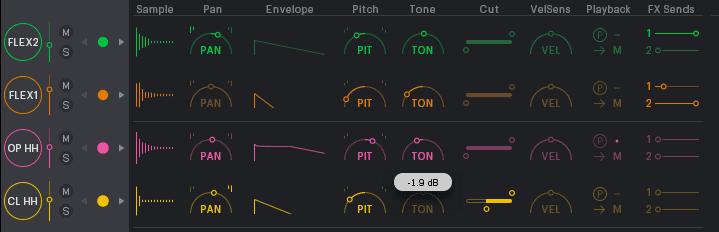 XO SoundControls