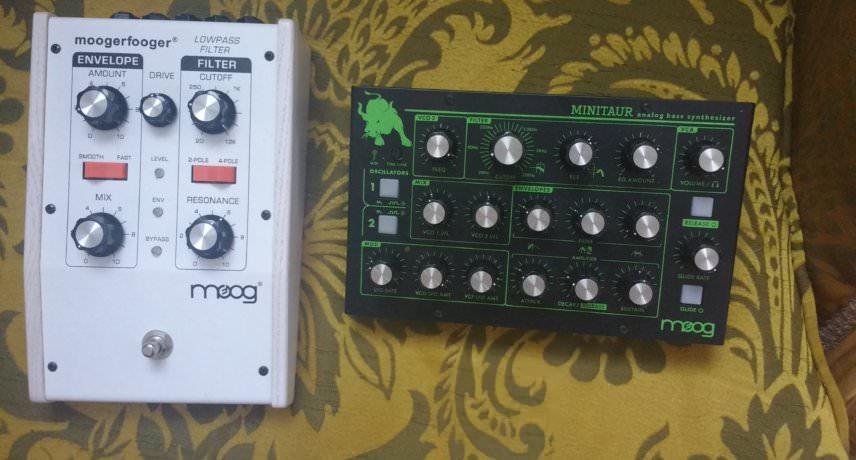 Moog Moogerfoofer MF-101 & Minitaur