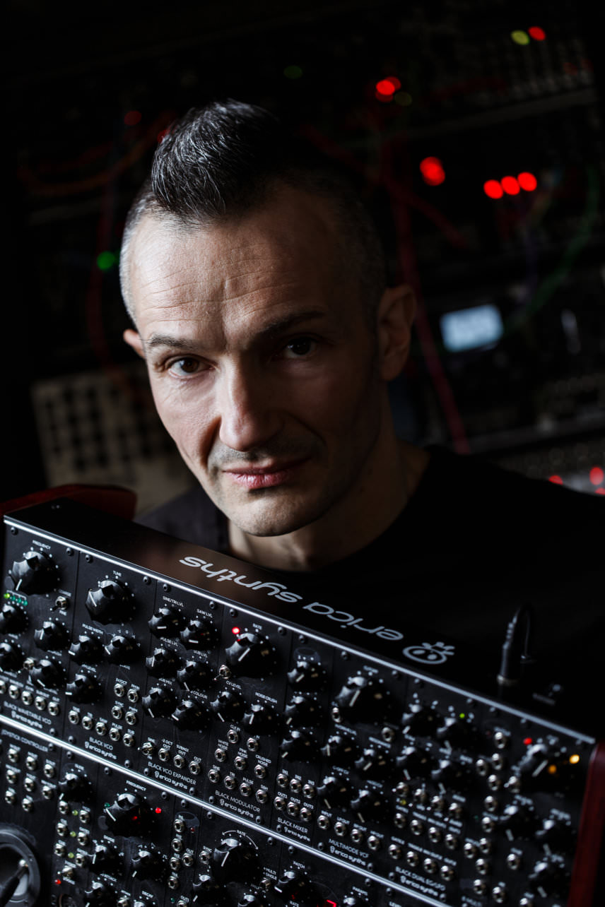 Girts Ozolinš - Erica Synths. Electronic Music, Techno System
