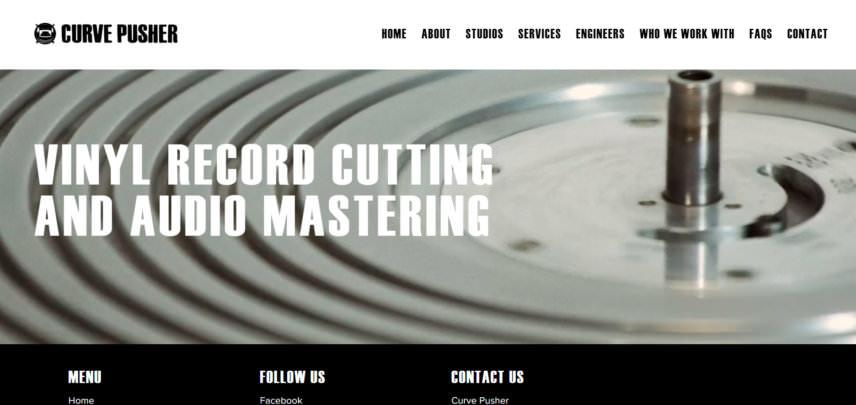 www.curvepusher.co.uk homepage  lawrie dunster nina kraviz mastering