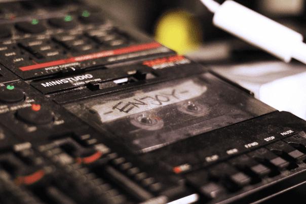 Tascam Cassette Recorder - Lukas Lyrestam - Lukas Lyrestam