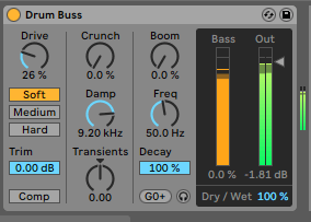 Drum Buss Saturation