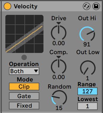 Hi-Hat Velocicty Midi Effect