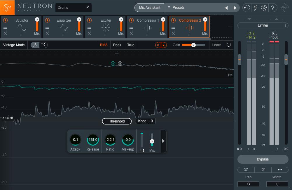 iZotope Neutron Interface