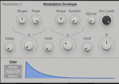 Modulation Envelope, Reese Bass