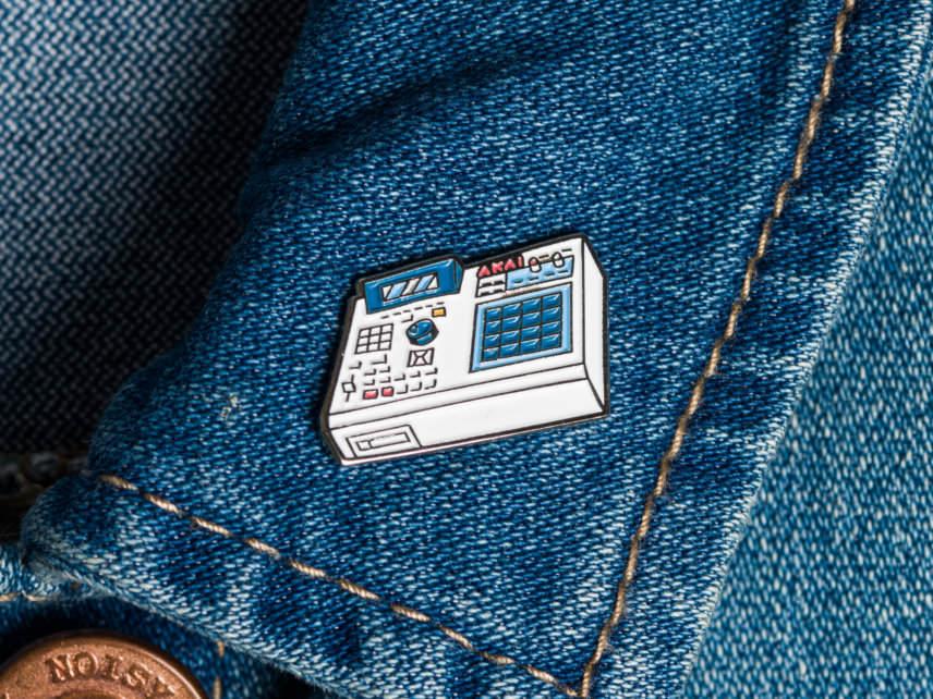 MPC Enamel pin badge drum machine pin badge