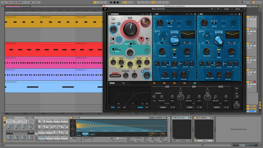 Processing Berghain Kicks With Multiband Distortion