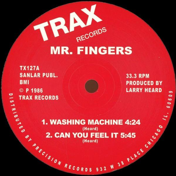 Trax records, Mr Fingers