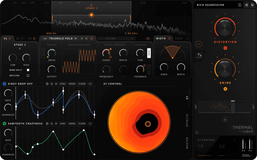 Output's Distortion Plugin Thermal Promises Interactivity