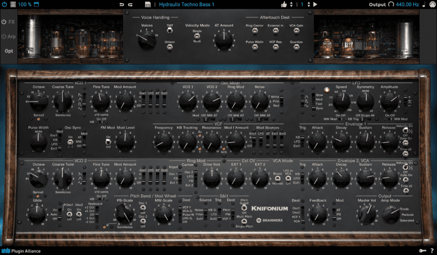 Crazy Vacuum Tube Synth Knifonium Now A Plugin - Attack Magazine