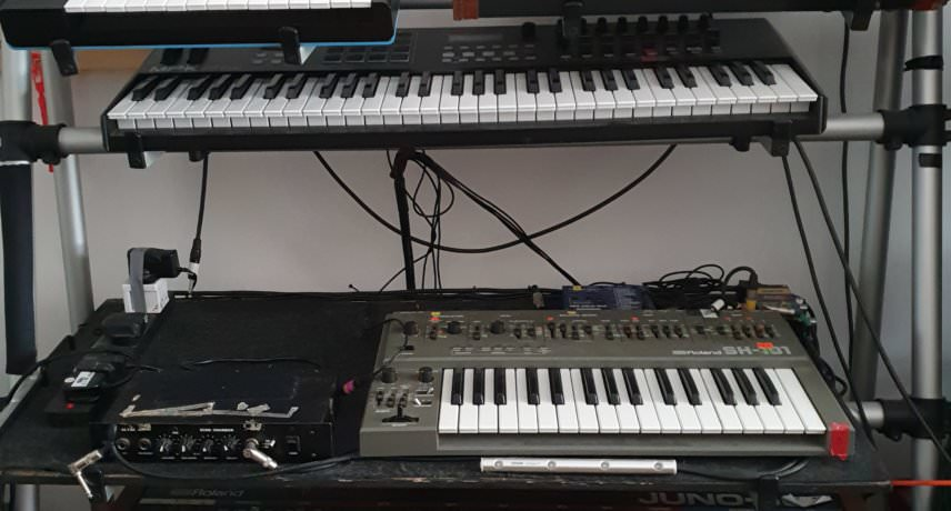 wall of synths