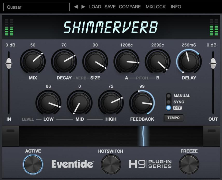 Eventide ShimmerVerb Reverb