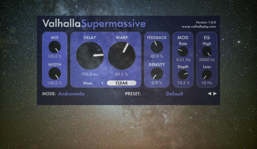 Valhalla Supermassive Ambient Pad