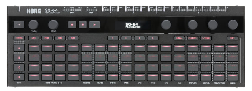 Korg SQ-64 Sequencer