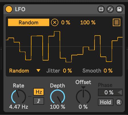Modulation with LFO's