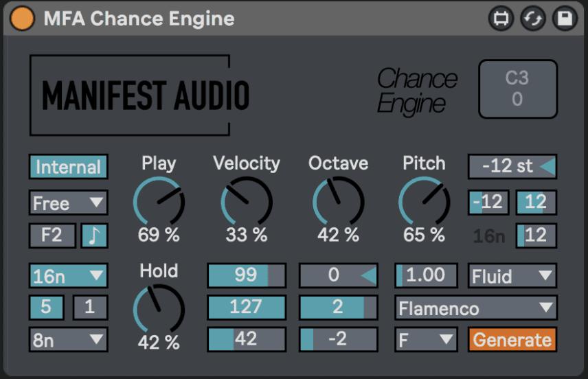 Max for Live MIDI Effect