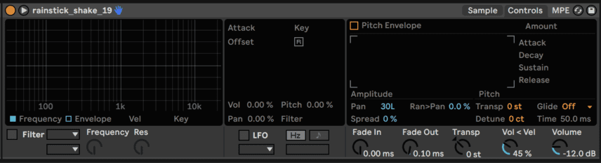 Lone-Style Stereo Drums