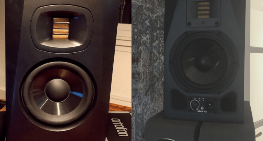 Adam Audio T5V and A5X