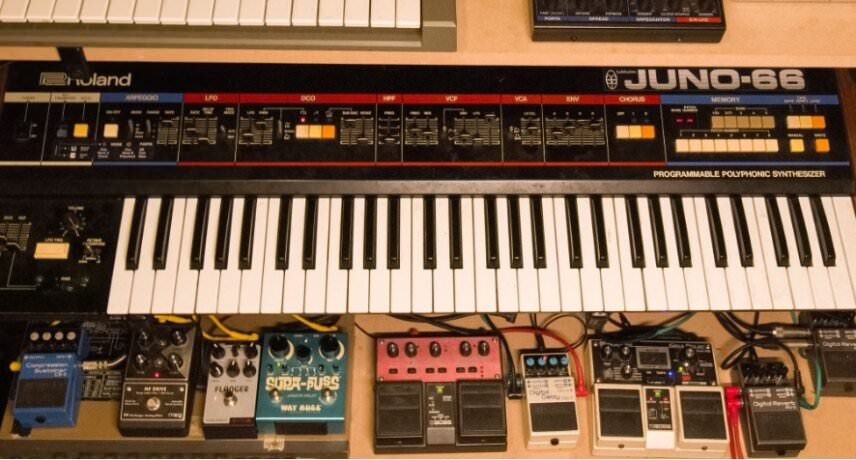 Juno 66 + some more pedals